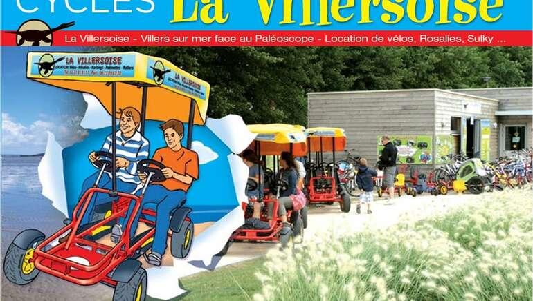 Location de vélos, vélos électriques, rosalies et autres cycles - Cycles La Villersoise