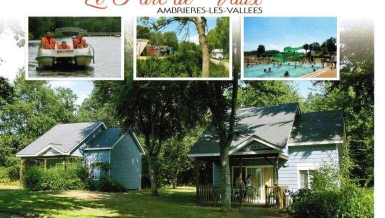 ©Village de Chalets camping le parc de Vaux Ambrières les vallées