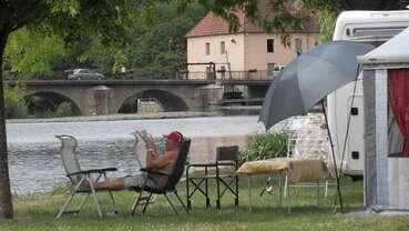Camping La Saône jolie
