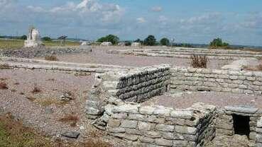 Site des vestiges de la ville gallo-romaine d'Alésia
