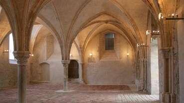 La salle capitulaire du Prieuré de La Charité-sur-Loire