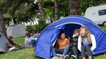 Camping des bords de l'Aure