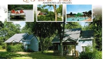 ©Camping le parc de Vaux Ambrieres les valléees